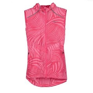 Saucony Freedom Vest Hooded Run Shield Pink XL